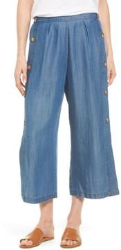 Catherine Malandrino Women's Watson Wide Leg Crop Pants