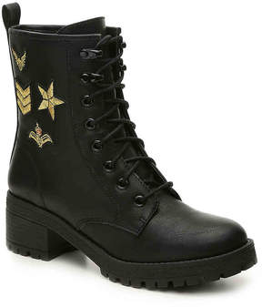 Madden-Girl Women's Eloise Combat Boot