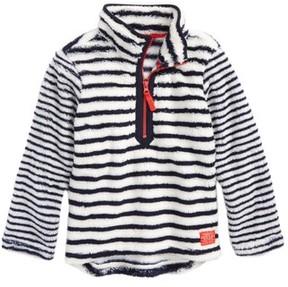 Joules Toddler Girl's Half Zip Fleece Pullover