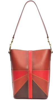 Frye Ilana Colorblock Bucket Bag