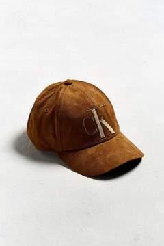 Calvin Klein Tonal Suede Baseball Hat
