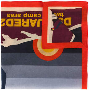 DSQUARED2 scout camp scarf