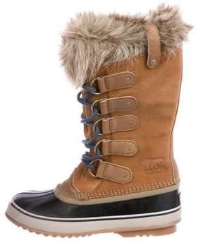 Sorel Suede Duck Boots