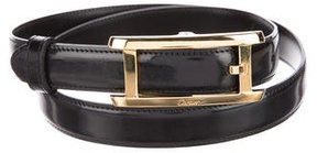 Cartier Leather Buckle Belt