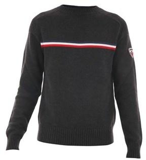 Rossignol Men's Grey Wool Sweatshirt.