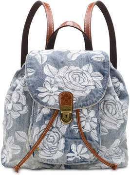Patricia Nash Casape Denim Backpack