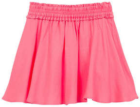Kate Spade smocked waist skirt (Toddler & Little Girls)