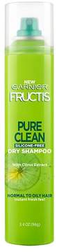 Garnier® Fructis® Pure Clean Dry Shampoo with Citrus Extract - 3.4oz