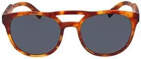 Prada Matte Light Havana Square Sunglasses