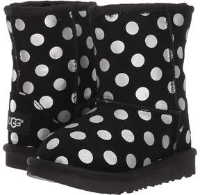 UGG Classic Metallic Dots Girl's Shoes