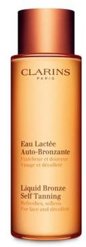 Clarins Liquid Bronze Self-Tanning for Face and Decollete/ 4.2 oz.