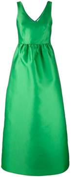 P.A.R.O.S.H. fitted waist evening gown