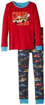Hatley Monster Cars Applique Pajama Set Boy's Pajama Sets