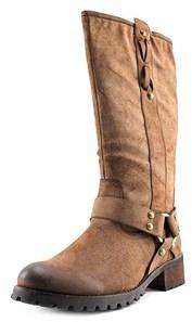 Report Signature Report Teesha Brown Mid Calf Boots.