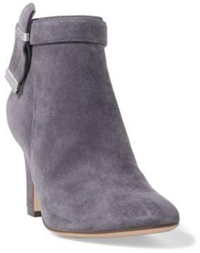 Ralph Lauren Brin Suede Ankle Boot Mysteriousgrey/Grey 5.5