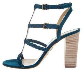 Ritch Erani NYFC Suede Multistrap Sandals w/ Tags