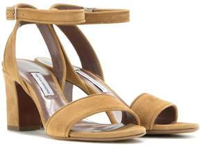 Tabitha Simmons Leticia 75 suede sandals