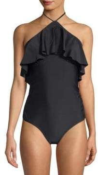 6 Shore Road Katie's One-Piece Ruffled Swimsuit