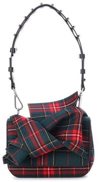 N°21 Plaid shoulder bag