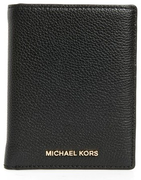 MICHAEL Michael Kors Mercer Passport Wallet - Red - RED - STYLE