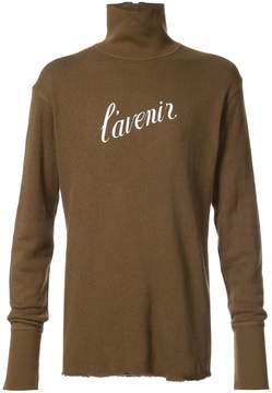 Ann Demeulemeester Dominic reversible sweater
