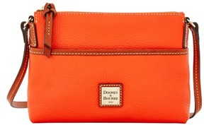 Dooney & Bourke Pebble Grain Ginger Pouchette Shoulder Bag - PERSIMMON - STYLE
