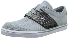 Puma Men's EL Ace Opulence Classic Sneaker,Tradewinds/Black/Fluorescent Purple,4.5 M US