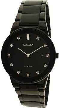 Citizen Men's AU1065-58G Axoim Stainless Steel Watch, 40mm