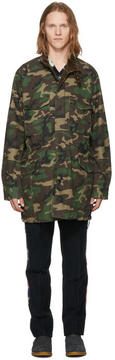 Nonnative Green Camo Trooper Coat
