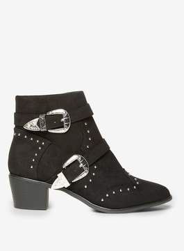 Dorothy Perkins Black Alicia Ankle Boots
