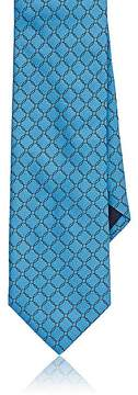 Barneys New York Men's Circle-Pattern Satin Necktie