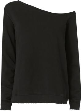 RtA Claudine Off Shoulder Sweatshirt