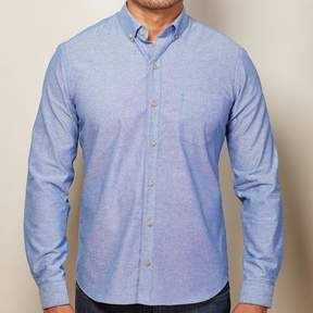 Blade + Blue Solid Blue Chambray Shirt - Chucky