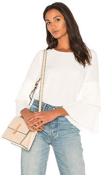1 STATE Pleated Sleeve Blouse