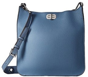 Michael Kors Sullivan Large Leather Messenger Bag - Denim - 30H6SUPM3L-405 - DENIM - STYLE