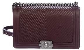 Chanel Chevron Medium Plus Boy Bag