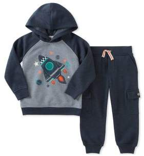 Kids Headquarters Little Boy's Two-Pieced Hoodie & Pants set