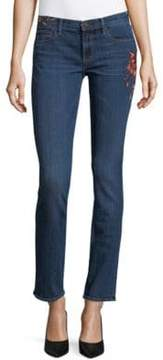 Driftwood Audrey Floral Embroidered Jeans