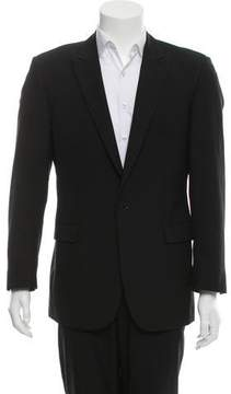 Calvin Klein Collection Two-Button Wool Blazer