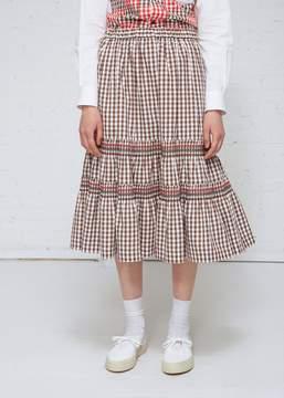 Comme des Garcons Gingham Skirt