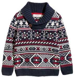 H&M Shawl-collar Sweater