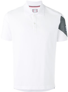 Moncler Gamme Bleu sleeve panel polo shirt