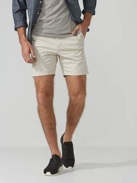 Frank and Oak The Becket Chino Short in Pumice Stone