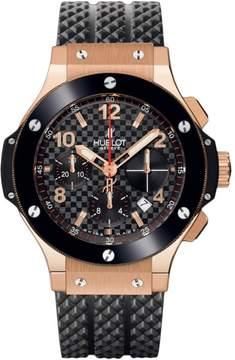 Hublot Big Bang 341.pb.131.rx 18K Rose Gold & Ceramic Carbon Fiber 41mm Mens Watch