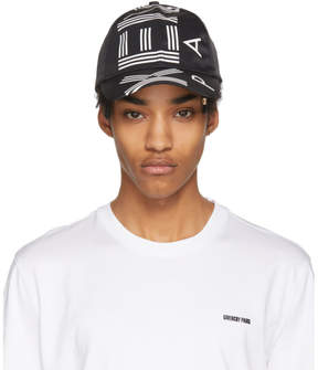 Kenzo Black and White Logo Cap