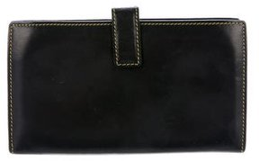 Marc Jacobs Leather Continental Wallet - BLACK - STYLE