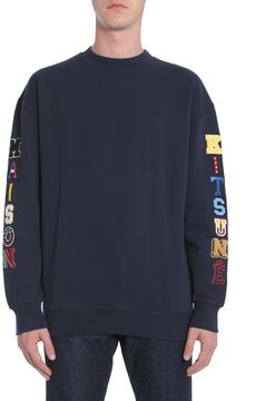 Kitsune Sweatshirt Multi Patch Logo