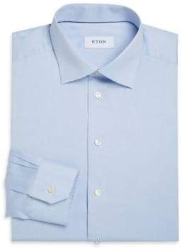 Eton Contemporary-Fit Solid Twill Dress Shirt