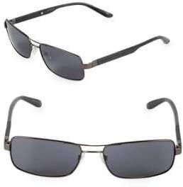 Carrera 57MM Rectangle Sunglasses