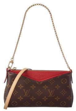 Louis Vuitton Cherry Monogram Canvas Pallas Clutch. - BROWN MULTI - STYLE